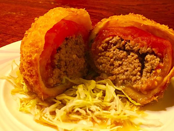 トマトコロッケ 650円
