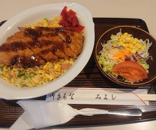 カツチャーハン ¥800