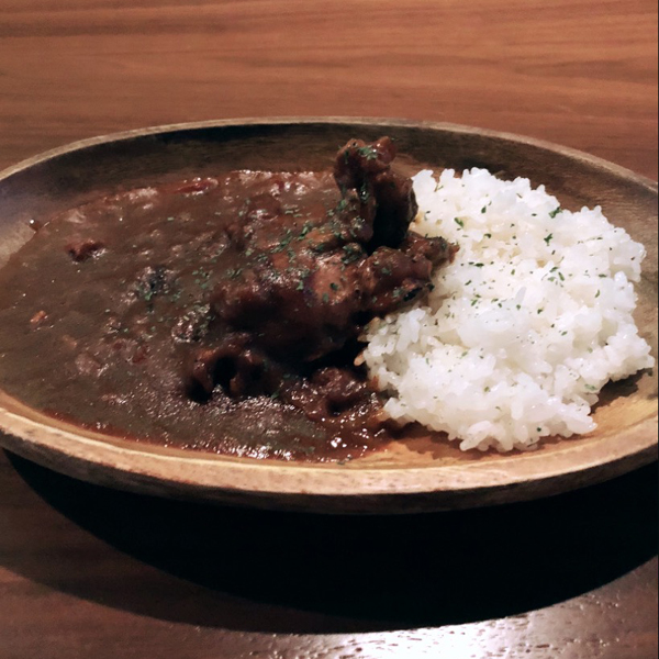 takeout チキンカレー ¥800